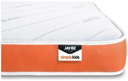 An Image of JAY-BE Open Coil Foam Free Kids Single Mattress