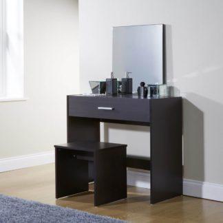 An Image of Julia Dressing Table Set Brown