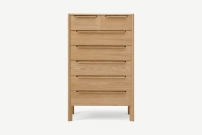 An Image of Ardelle Multi Chest of Drawers, Light Wood
