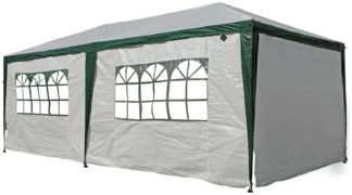 An Image of Argos Home 3m x 6m Weather Resistant Gazebo with Side Panels