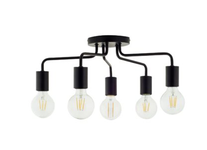An Image of Argos Home Rayner 5 Arm Flush to Ceiling Light