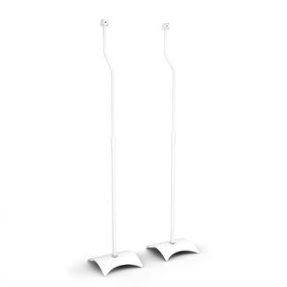 An Image of AVF Surround Speaker Floor Stands - White