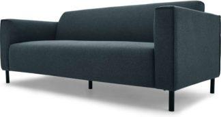 An Image of Herron 3 Seater Sofa, Aegean Blue