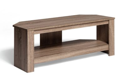 An Image of AVF Up To 55 Inch TV Stand - Light Oak