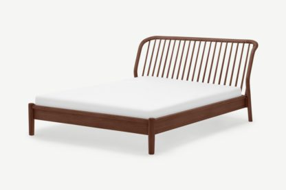 An Image of Tacoma Double Bed, Walnut