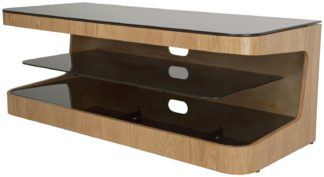 An Image of AVF Up to 55 Inch Wood TV Stand - Oak