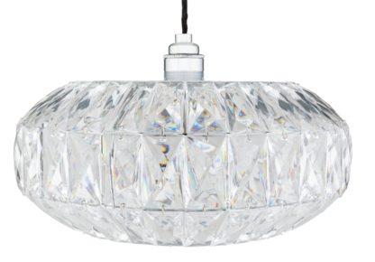 An Image of Argos Home Savannah Acrylic Ceiling Pendant Light
