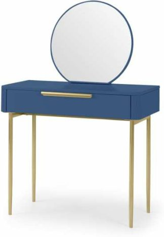 An Image of Ebro Dressing Table, Blue