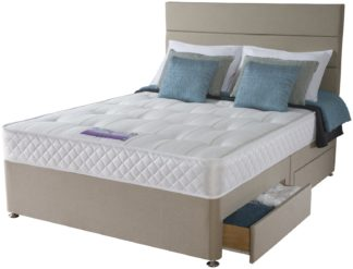 An Image of Sealy Posturepedic Firm Ortho Divan - Superking