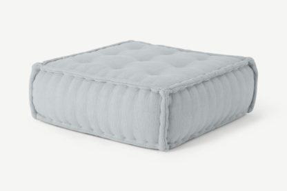An Image of Sully Floor Cushion, Glacier Grey