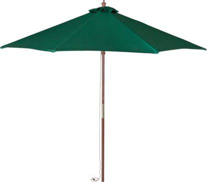 An Image of Argos Home 2m Water Repellent Garden Parasol - Green
