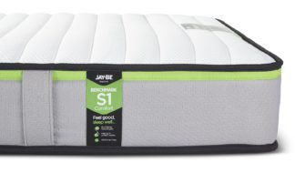 An Image of Jay-Be Benchmark S1 Comfort Eco Friendly Single Mattress