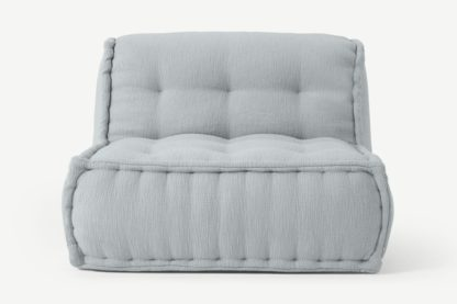 An Image of Sully Modular Floor Cushion, Glacier Grey