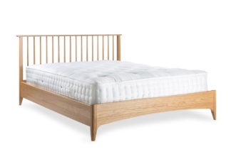 An Image of Heal's Blythe Bed King Size Oak