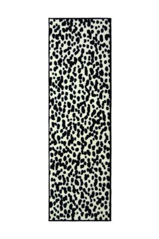 An Image of Homemaker Dalmatian Runner - 67x200cm - Black and White