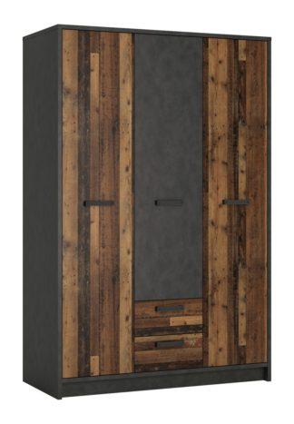An Image of Nubi 3 Door 2 Drawer Wardrobe