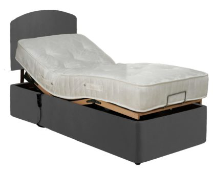 An Image of MiBed Berrington Adjustable Single Bed Frame