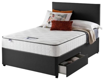 An Image of Silentnight Middleton 800 PKT Comfort 2DRW Ccoal Small DBL