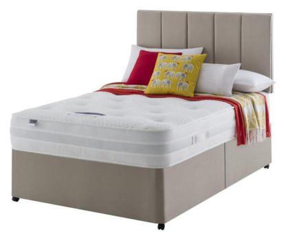 An Image of Silentnight Walton Pocket Sprung Luxury Divan - Double