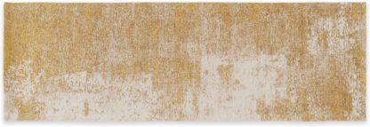 An Image of Genna Jacquard Runner 66 x 200 cm, Gold