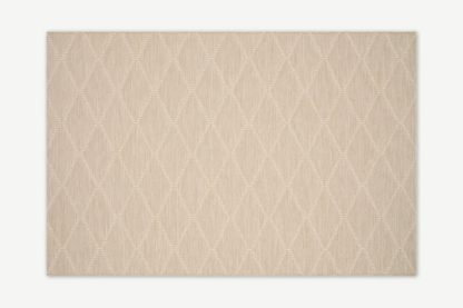 An Image of Vinonelo Indoor/Outdoor Rug, Large 160 x 230cm, Soft Taupe