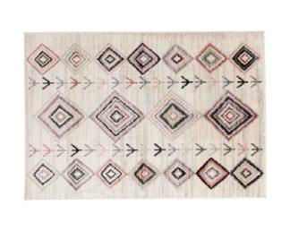 An Image of Habitat Colorado Trend Berber Rug - 120x170cm - Blush Pink