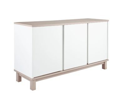 An Image of Argos Home Essel 3 Door Sideboard - Two Tone