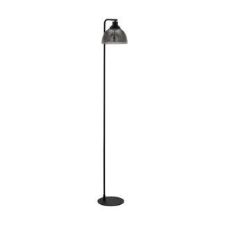 An Image of Eglo Beleser Floor Lamp - Dark Grey