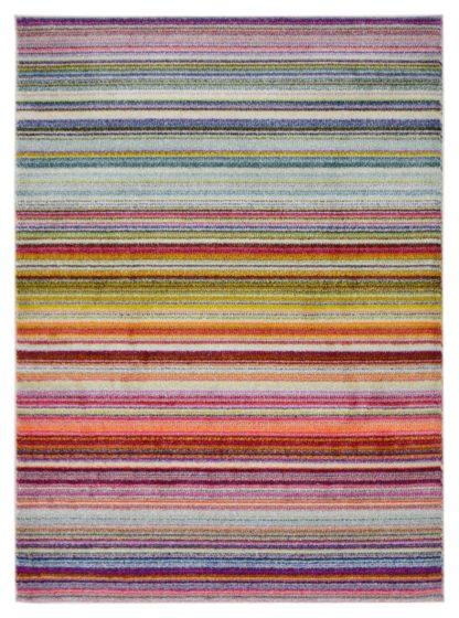 An Image of Homemaker Villa Stripe Rug - 160x230cm - Multi