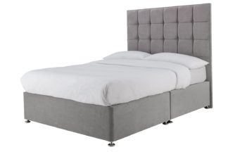 An Image of Forty Winks 2000 Pocket Sprung Double Divan - Seal Grey