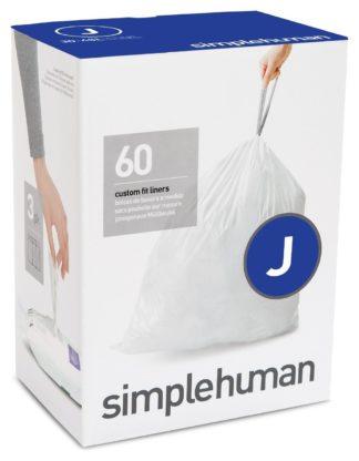 An Image of simplehuman Code J Bin Liners - Pack 60