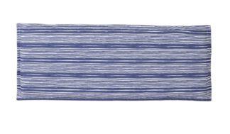 An Image of Argos Home Garden Bench Cushion - Coastal Stripe