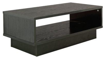 An Image of Habitat Cubes 1 Shelf Coffee Table - Black