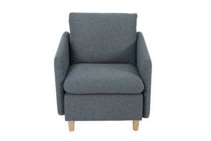 An Image of Habitat Mod Fabric Armchair with Arms - Grey