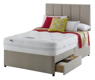 An Image of Silentnight Walton Pocket Luxury 2 Drawer Divan - Double
