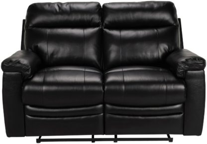 An Image of Argos Home Paolo 2 Seater Manual Recliner Sofa - Ivory