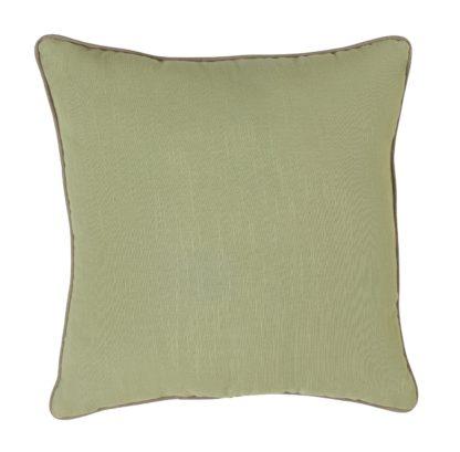 An Image of Habitat Green Cushion - 2 Pack