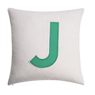 An Image of Argos Home Letter J Cushion