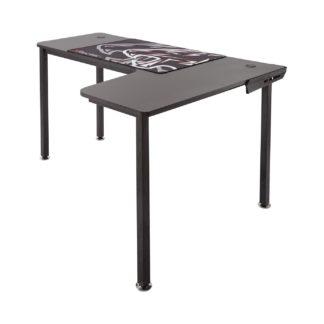 An Image of X Rocker Panther XL Gaming Desk - Black