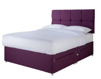 An Image of Sleepeezee Orthopaedic 1000 Pillowtop 4 Drawer Divan Set