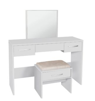 An Image of Argos Home New Hallingford Dressing Table - White