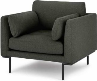 An Image of Harlow Armchair, Hudson Grey