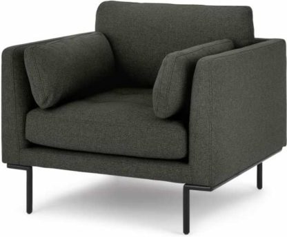 An Image of Harlow Armchair, Hudson Grey