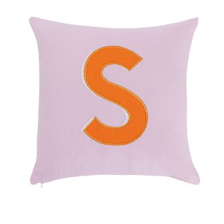 An Image of Argos Home Letter S Cushion