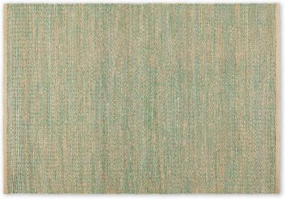 An Image of Enas Jute Rug, Large 160 x 230cm, Lake Green
