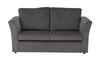 An Image of Habitat Paxton 2 Seater Fabric Sofa Bed - Grey