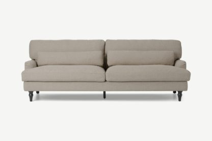 An Image of Tamyra 3 Seater Sofa, Barley Weave