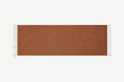 An Image of Ofrah Indoor/Outdoor Runner, 70 x 200cm, Terracotta