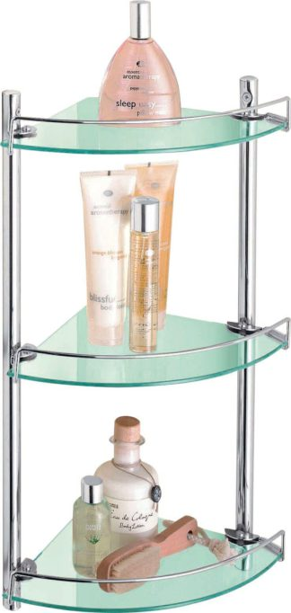 An Image of Argos Home Corner Glass and Wire Rack