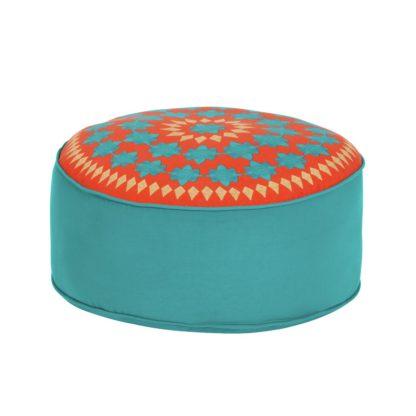 An Image of Argos Home Global Floor Cushion - Multicoloured